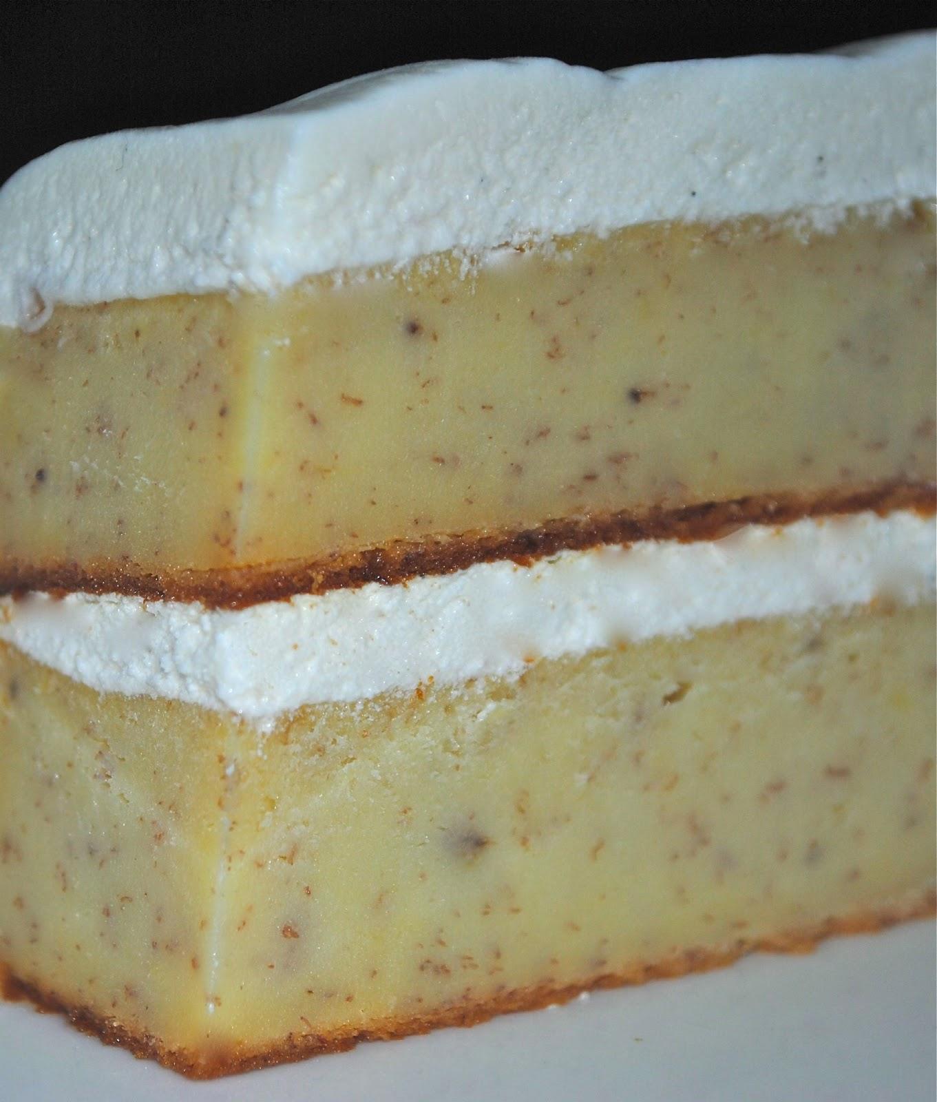 Sour Cream Banana Cake With Caramel Icing