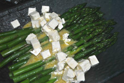 asparagus and feta salad