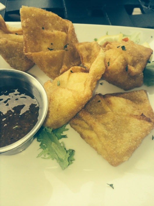 The Crab Rangoon - this dish had been featured in a recent audiobook we had listened to, and we were excited to try it