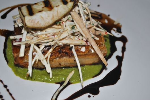 The pork belly at Good George