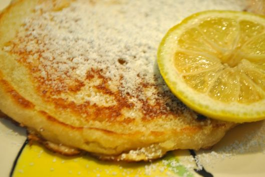 buttermilk lemon pancakes