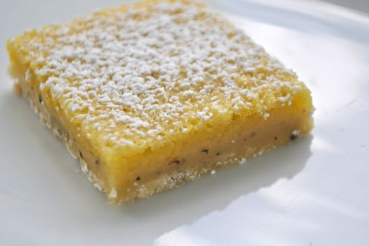earl grey lemon bars