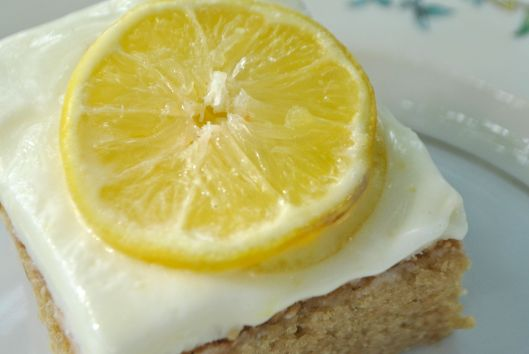 sweet tea lemonade cake