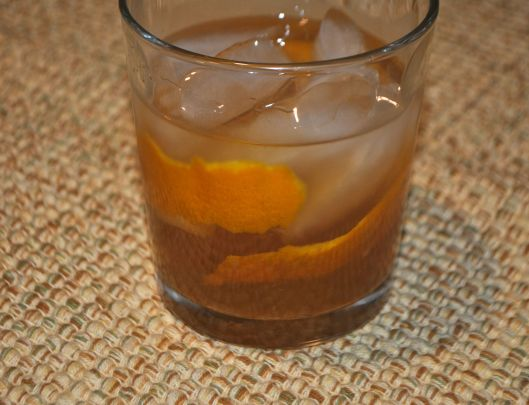 apple ginger whiskey sour