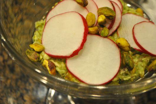 pistachio guacamole