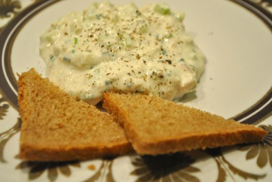 smoked trout and horseradish dip