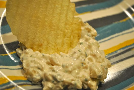 three onion dip