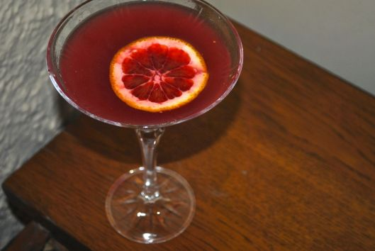 blood orange ginger margarita