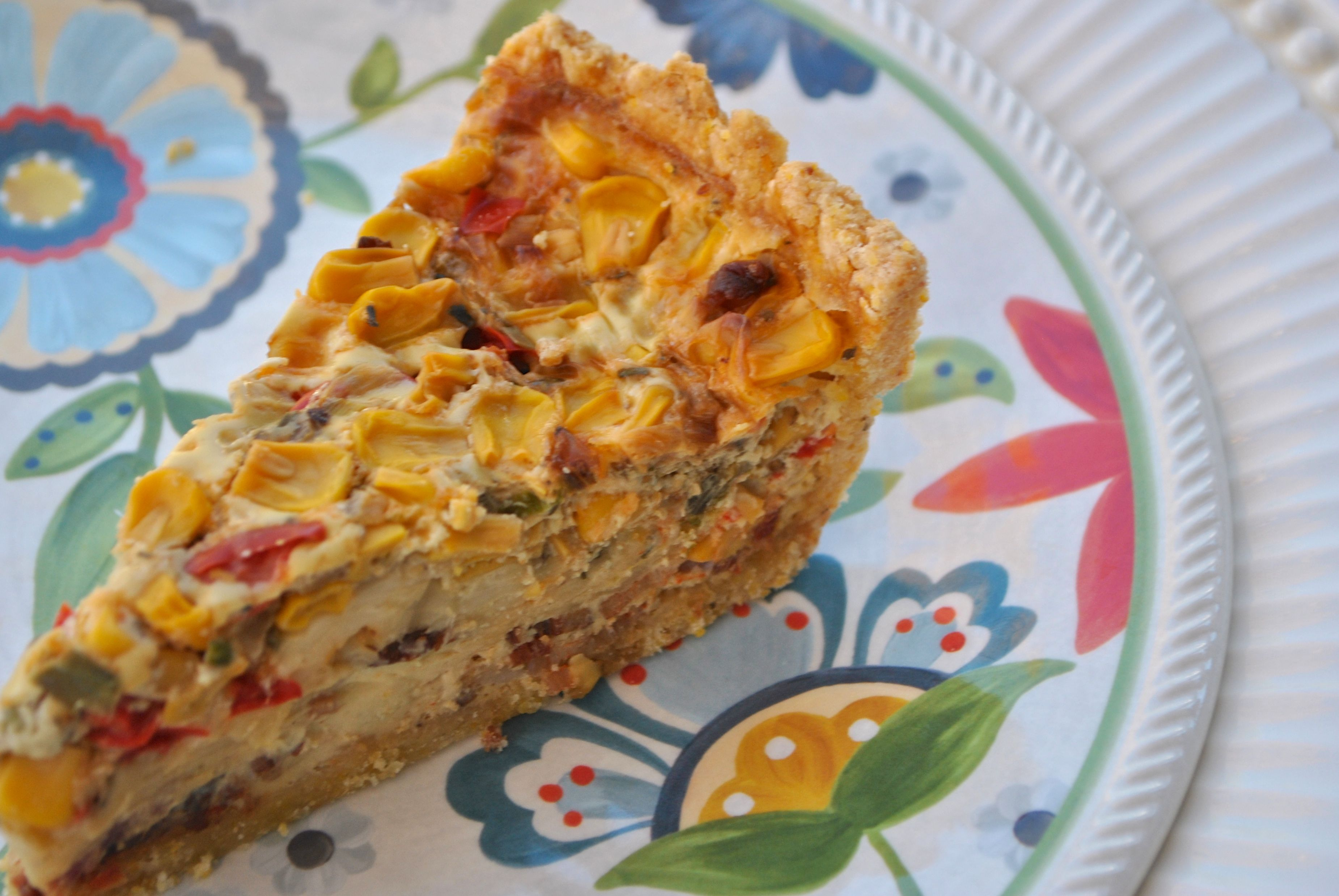 Corn And Bacon Pie Recipe — Dishmaps