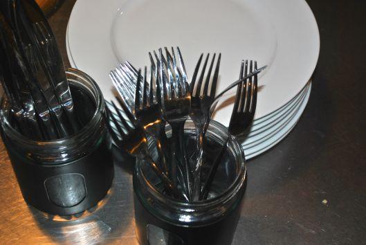cutlery at Debras