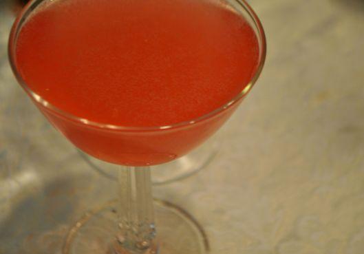 rhubarb collins