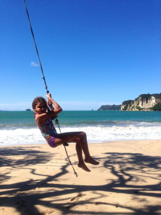 My daughter isn't as terrified of the rope swing as I used to be!