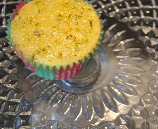 lemon rosemary cakes