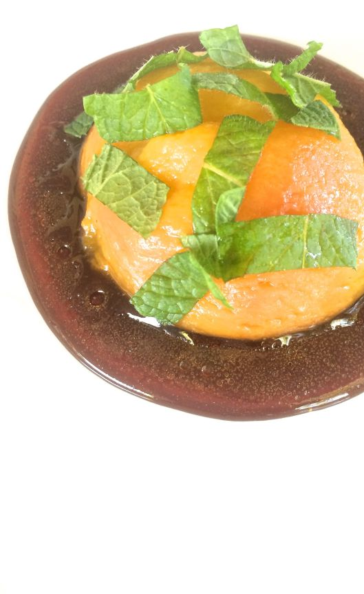 mint julep peaches