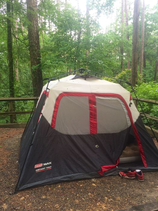 lake degray tent