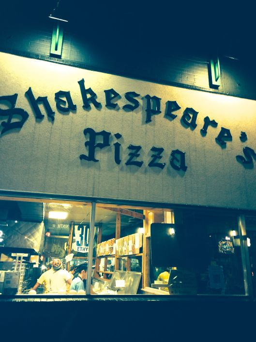 shakespeares pizza