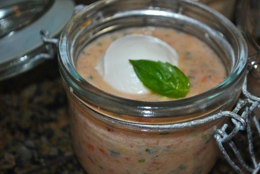 tangy tomato basil soup