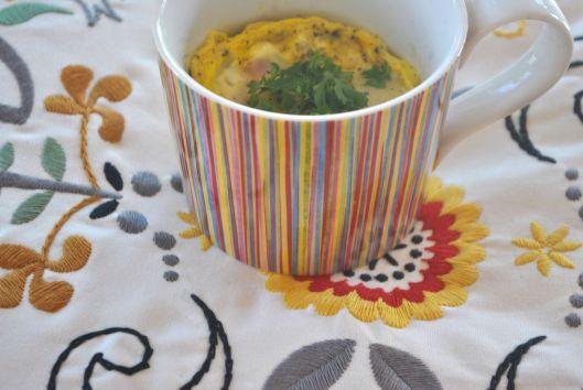egg bake in a mug