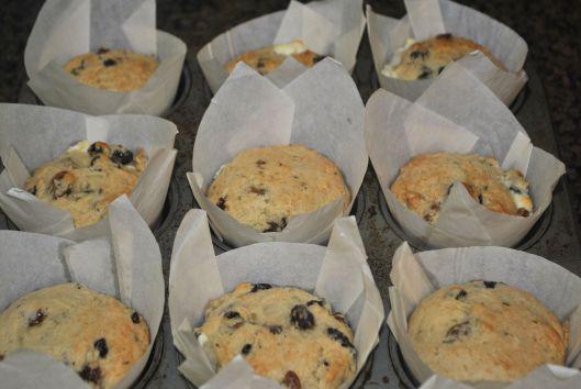 fresh rosemary muffins