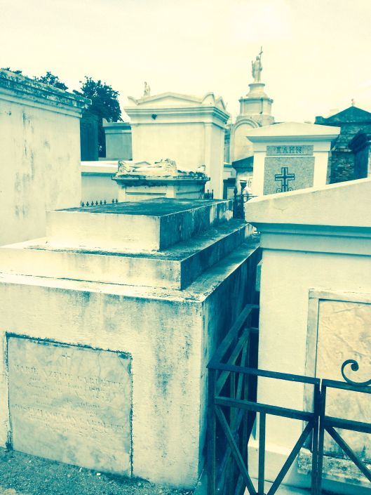 view inside St Louis Cemetery #1