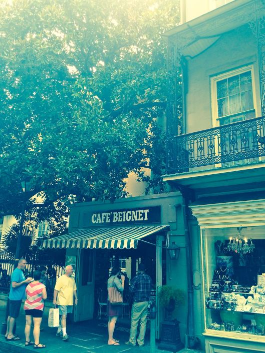 the adorable Cafe Beignet