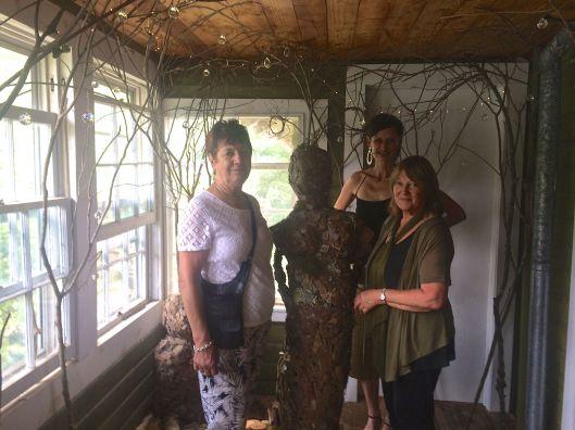 Me, Mum and Aunty Marion at Ozark Folk Ways