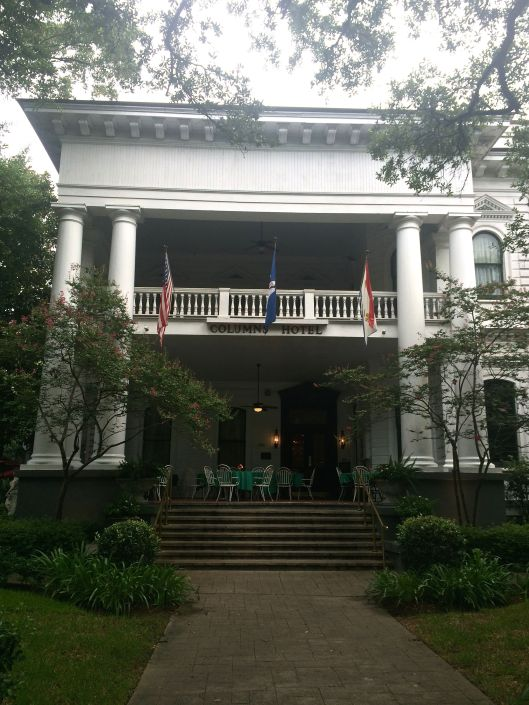 the gorgeous Columns Hotel