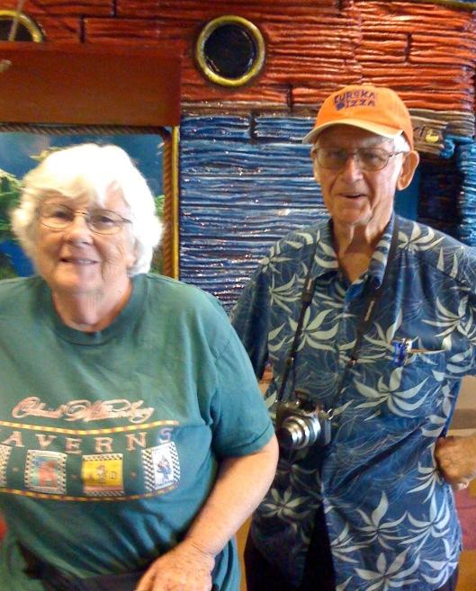 bob and elsie at NO aquarium