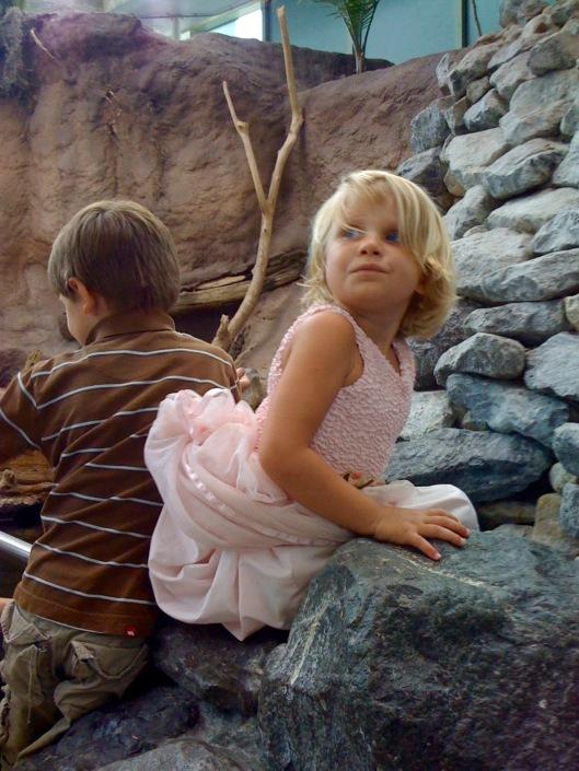 joe and elise at NO aquarium