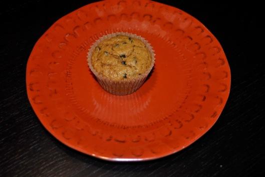 caramel pumpkin muffins