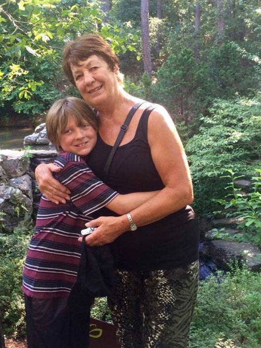 garvan gardens - max and aunty marion