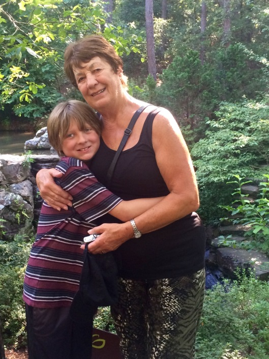 garvan gardens - max and aunty marion