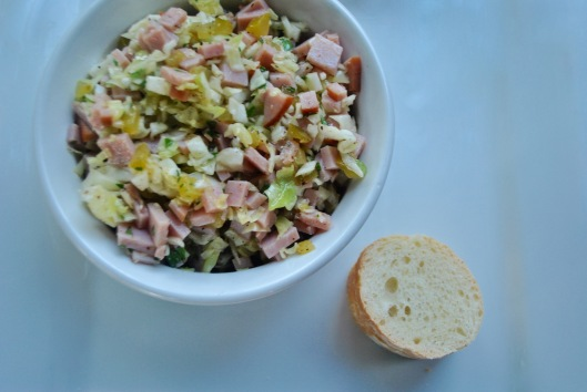 potted ham and cabbage