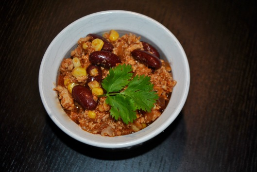 turkey and chorizo chili