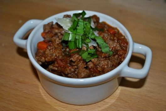 beef and pork bolognese