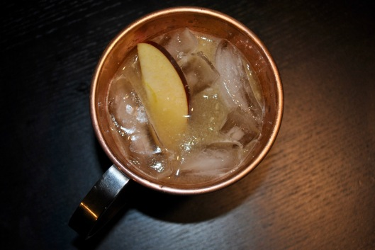 black apple mule