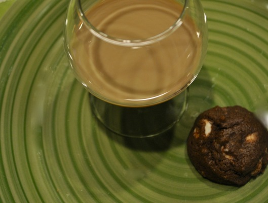 chocolate fudge irish cream cookies