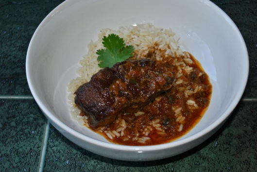 coriander coconut braised ribs