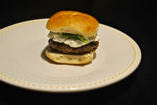 lamb burgers with feta