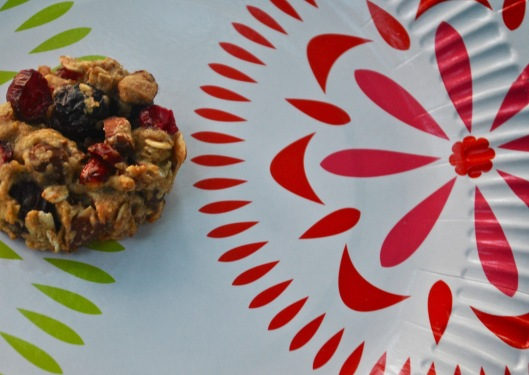 double berry breakfast cookies