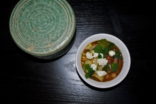 pork and hominy posole soup