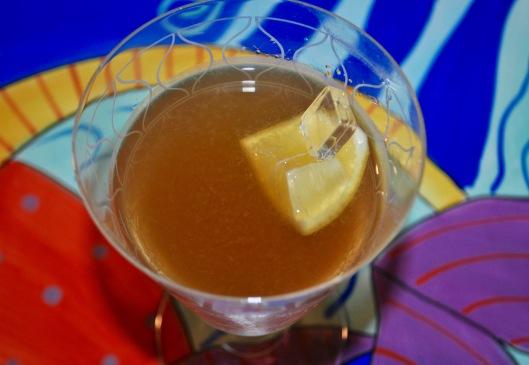 citrus blush martini