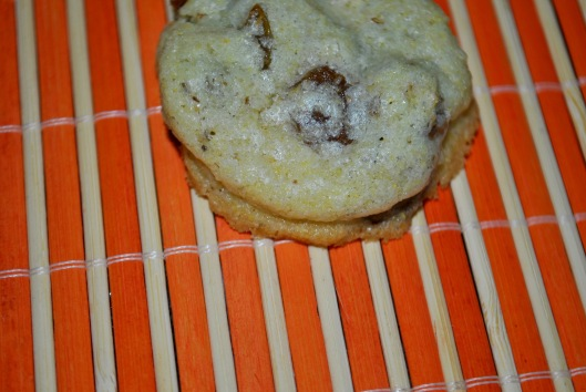 cornmeal chocolate chunk cookies