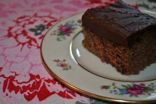 decadent chocolate cake