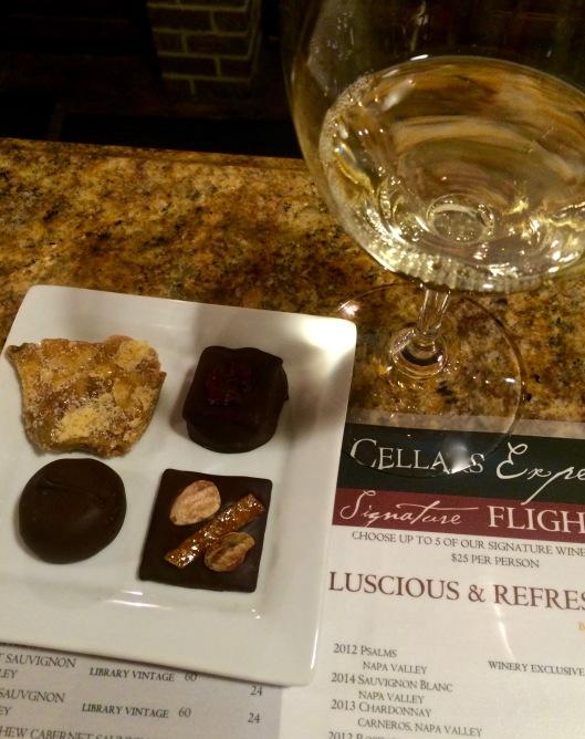 our Trinitas Cellars tasting experience