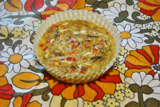 quinoa vegetable muffins