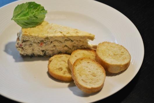artichoke cheesecake