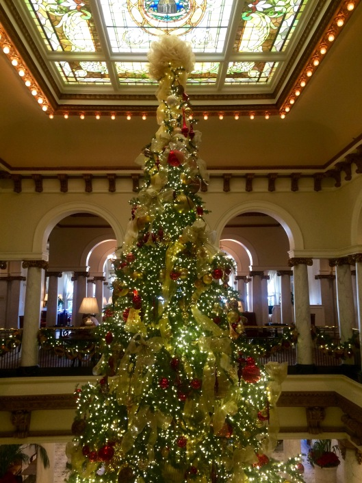 Christmas Tree at the Capital Hotel