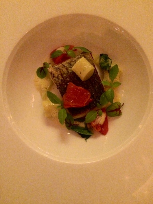 one of the courses from the 5-course Chef Degustation Menu - we thoroughly enjoyed